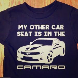 Other - Camaro Car Seat - Baby Bodysuit or Toddler Tshirt